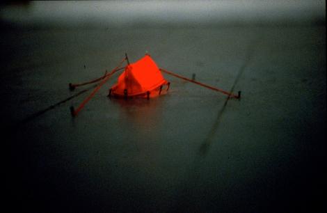 Miniature Tent, Installation, 2011
