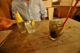 Late night mojito in Madrid with Hector my mexican couch surfing host