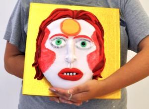 Ziggy Stardust the cake